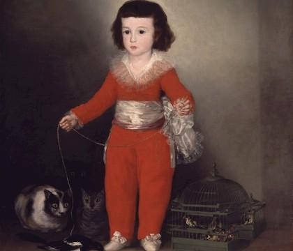 'Goya and the Altamira Family'