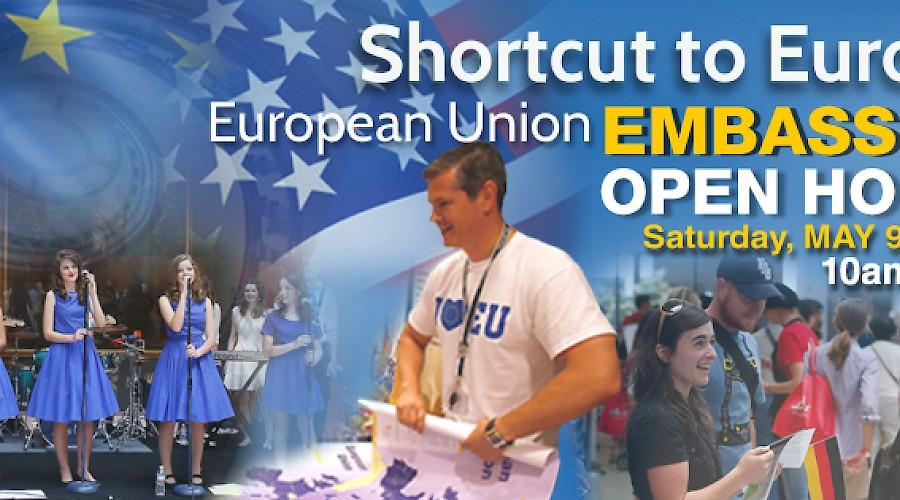 Shortcut to Europe: E.U. Embassies' Open House 2015