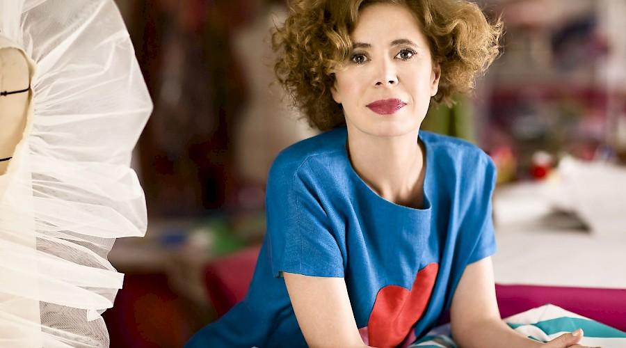 Agatha Ruiz de la Prada in conversation with Ariele Elia and Elizabeth Way