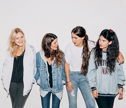 Hinds 2016 U.S. Tour in New Orleans