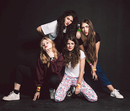 Hinds 2016 U.S. Tour in Seattle