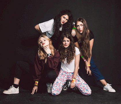 Hinds 2016 U.S. Tour in San Francisco