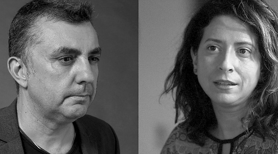 A reading with Manuel Vilas and Ana merino
