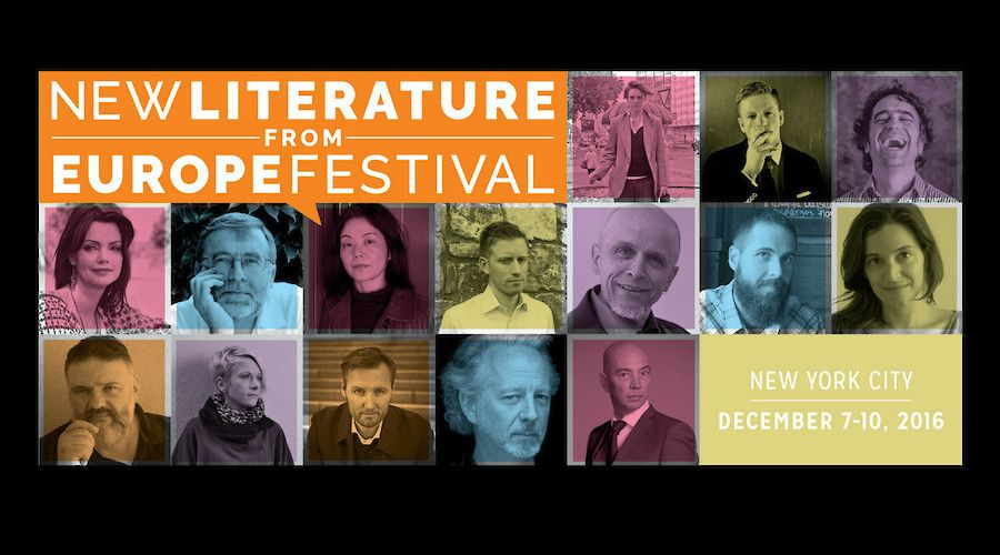 Martí Sales and Cristian Crusat at New Literature From Europe Festival