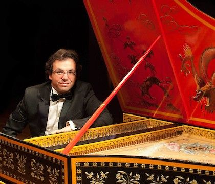 Yago Mahúgo on harpsichord: A baroque evening