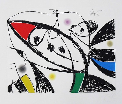 Joan Miró, from the Collection of The Kreeger Museum