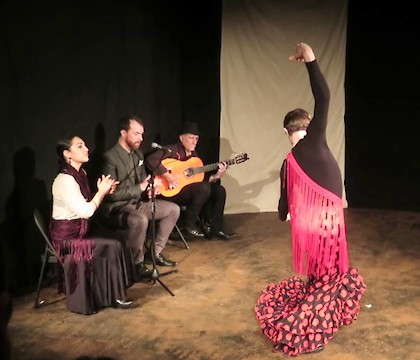 Al Margen Flamenco Dance Company presents Adorno