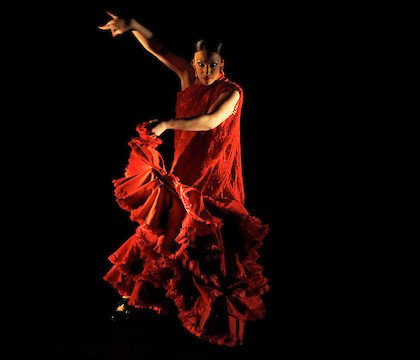 Flamenco Vivo's Carlota Santana at the Brooklyn Academy of Music