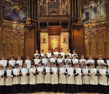 Escolania de Montserrat 2017 U.S. tour in New York