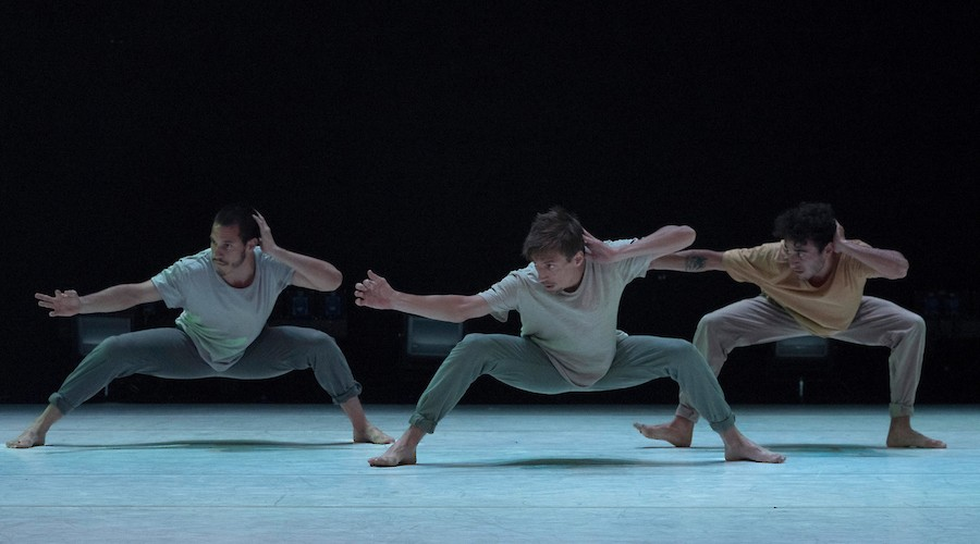 Elias Aguirre Dance Company at Battery Dance Festival