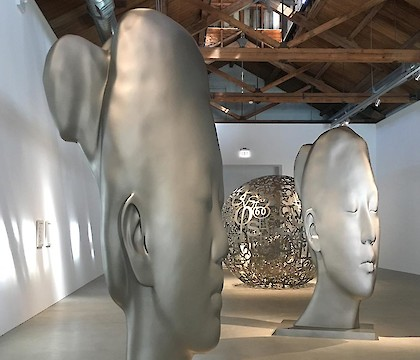 Jaume Plensa at Richard Gray Gallery