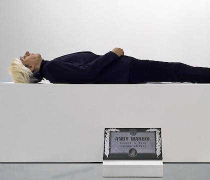 Here Died Warhol by Eugenio Merino