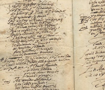 Goya and Lope de Vega at The Magic of Handwriting: The Pedro Corrêa do Lago Collection