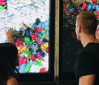 Coolture Impact: A Digital Interactive Cultural Platform in Times Square