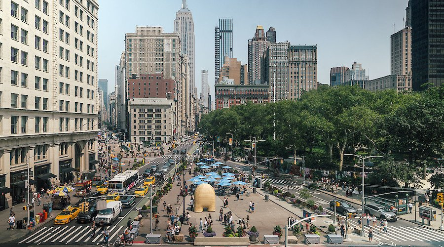 Art in Public Spaces and New York's leading role