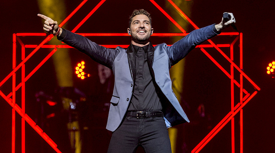 David Bisbal 2019 U.S. tour in Dallas