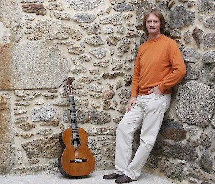 David Russel at the Marlow Guitar Series